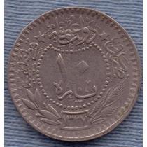 Turquia 10 Para 1915 (1327/7) * Sultanato De Muhammad V *