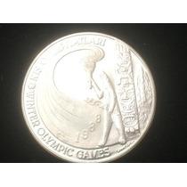 Moneda De Turquia De Plata Olimpiadas 1988