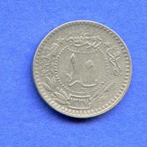 Turquia 10 Para 1913 (1327/5) * Sultanato De Muhammad V *