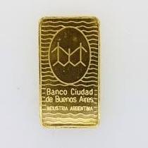 Lingote Banco Ciudad De Oro Por Gramo Dlisjoyeria