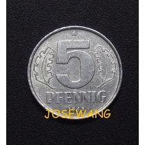 5 Pfennig, Moneda Alemana Del Año 1968