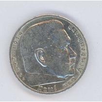 Moneda De Plata Alemania Nazi 2 Marcos