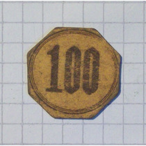 Alemania Moneda Provicional Carton Valor 100 Monograma Rp