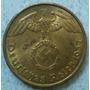Moneda Nazi Tercer Reich Alemania 5 Reichspfennig 1937 Km#91