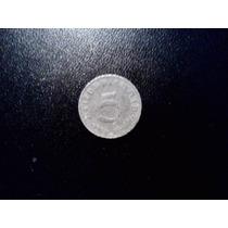 Moneda De Alemania Nazi 5 Pfennig