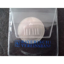 Moneda Alemana 10 Marcos De 200 Años Puerta De Brandenburgo