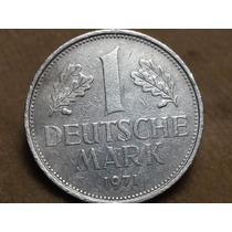 Moneda 1971 Alemania 1 Mark J Refb3-p1-10