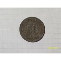 Alemania Notgel 50 Pfennig 1921 Muy Linda Y Rara