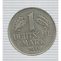 Alemania 1 Mark 1981 J