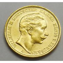 Preciosa Moneda Coleccion Alemana Oro Macizo 22 Kilates 1911