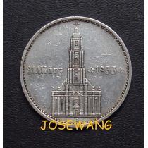5 Reichsmark, Moneda Alemana Del Año 1934 Plata