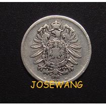 Mark, Moneda De Antigua Alemana Del Año 1874 Plata D