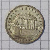 Austria 1 Shilling Plata 1925