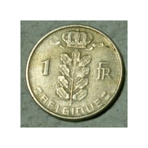 Belgica:moneda De 1 Franco Año 1956 (belgique)
