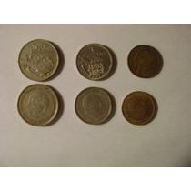 Lote De 27 Monedas Españolas Con Imagen De Franco