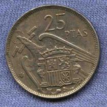 España 25 Pesetas 1957 * Francisco Franco *