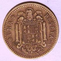 Moneda - 1 Peseta - España - Año 1966