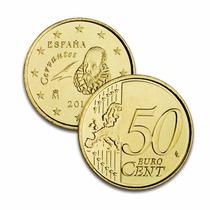Novedad! España 50 Euro Cent Cervantes Año 2014 Sin Circular