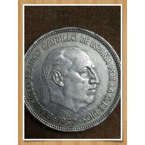 Moneda España 25 Pesetas, 1957 (58) Ref P2-9