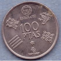 España 100 Pesetas 1980 * Mundial 1982 *