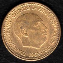 Moneda España 1 Peseta 1963 (65) Xf