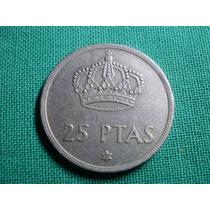 España 25 Pesetas 1975 Estrella 77 - Rey Juan Carlos I -