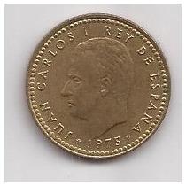 España Moneda De 1 Peseta Año 1975