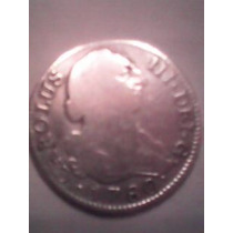 Moneda Española De Carolus Tercero Año 1780 Spaniarum Rex