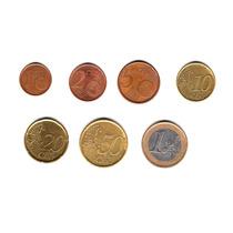 Lote 7 Monedas De España Serie 1 Cent A 1 Euro