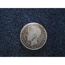 1 Peseta Año 1900 De Plata