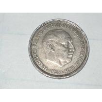 50 Pesetas 1957 Moneda Española..