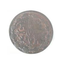 Moneda España Spain 8 Maravedies 1819 Fernando V I I