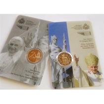 Coincard Moneda 2 Euros San Marino 2011- Benedicto Xvi