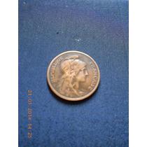 Moneda Antigua Francia 1915 De 5 Ctvos. De Coleccion