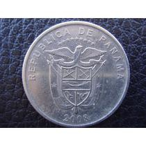 Panamá - Moneda De 1/4 De Balboa, Año 2008 - Muy Bueno
