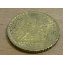 Antigua Moneda Bono 1 Franco,camara Comercio, Francia,1922