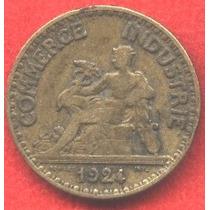 Francia Antigua 50 Centimes 1924 - Ls942