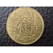 Francia - Moneda De 10 Ctvs De Euro, Año 1999 - Excelente