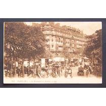 Europa - Francia - Paris, Bulevard De Los Italianos, 1912