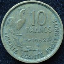 Francia - 10 Francos Año 1952..................... Blamanan