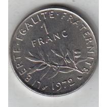 Francia Moneda 1 Franco Año 1972 !!!!!!!!!!!