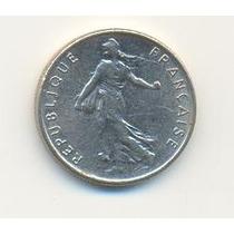 Moneda - Francia - 1/2 Franco - Año 1972-1976-1977