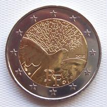 Francia - Moneda 2 Euros 2015 - Paz En Europa ¡ Sin Circ. !