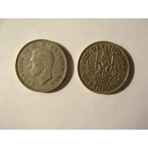 Dos Monedas George Vi One Shillihg 1948
