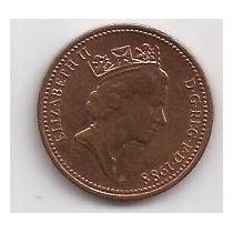 Gran Bretaña Moneda De 1 Penny Año 1988 !!!