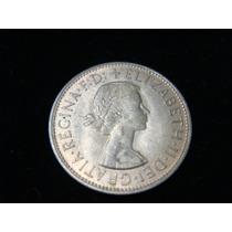 Moneda De Inglaterra De Un Penny Año 1946 Buen Estado.