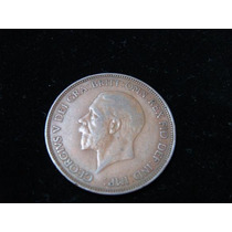 Moneda De Inglaterra De Un Penny Año 1936 Buen Estado.
