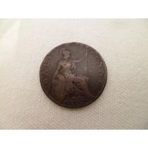 ººº Gran Bretaña Half Penny Año 1898 * B * ººº #746