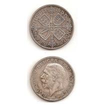 Moneda Inglaterra Florin 1929 De Plata