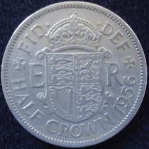 Inglaterra , Half Crown Año 1956.................. Blamanan